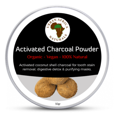 urban africa naturals-actieve-kool - activated charcoal-powder